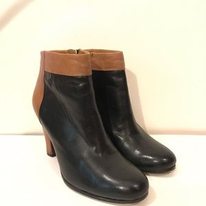 Sam Edelman Ankle Boots Fall leather black brown
